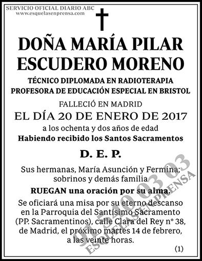 María Pilar Escudero Moreno
